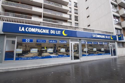 Magasin Literie Paris 15ème / Brancion (75)