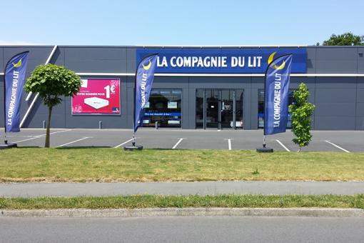 Magasin Literie La Compagnie du Lit à Cholet (49)