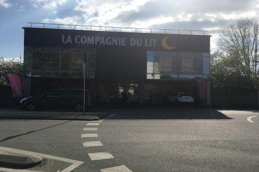 Magasin Literie La Compagnie du Lit à Saint Herblain (44)